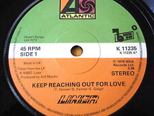 "LINER - KEEP REACHING OUT FOR LOVE   7"" VINYL"