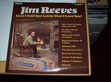 JIM REEVES - HAVE I TOLD YOU LATELY?, 10 TRACKS, 1969, (RCA/CAMDEN MONO LP)