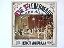 Die Fledermaus - Johann Strauß - KARAJAN Operette Klassik Schallplatte Vinyl LP