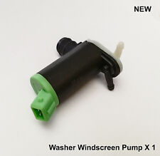 Peugeot 306 406 806 Twin Outlet Windscreen Window Washer Pump New X1 643460