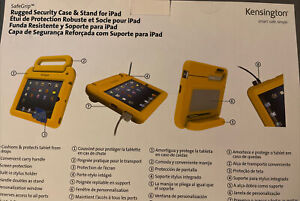 Kensington SafeGrip rugged security Carrying Case for iPad 2, 3, or 4- Yellow