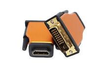 Adattatore da HDMI femmina a DVI-D (Dual Link) – Placcato Oro