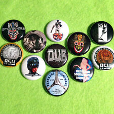 """Renegade Soundwave 1"""" Buttons RSW Dub Electronic Electro Big Beat FREE SHIPPING!"""