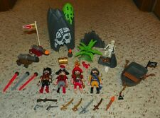 Play Mobil - Pirates, Knights & School Days - HUGE Play Mobil Lot - Hours of Fun