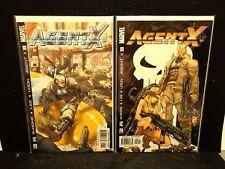 Agent X #1 & 2 (2002) Deadpool Movie Marvel Comics lot of 2