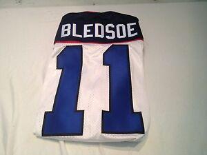 VINTAGE NFL DREW BLEDSOE #11 BUFFALO BILLS WHITE AUTHENTIC REEBOK JERSEY NWT