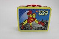 1998 Marvel Comics Iron Man Tin Lunch Box - Tony Stark