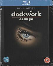 Uhrwek Orange - A Clockwork Orange,geprägtes Blu Ray Steelbook, NEU & OVP