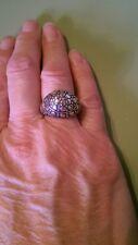 John Hardy Sterling Dot Dome Ring, size 6