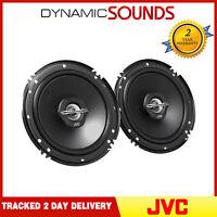 """JVC CS-J620X 6.5"""" 16cm 2 Way 600 Watts Car Van Door Coaxial Speakers Pair - New"""