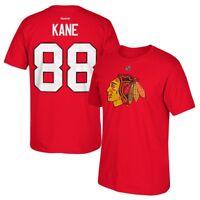 "Patrick Kane Reebok Chicago Blackhawks ""Freeze"" Player Jersey T-Shirt Men's"