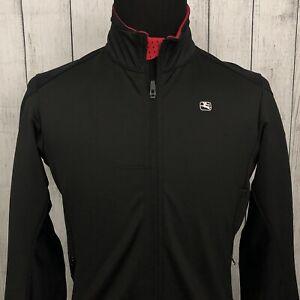 Giordana FR-C Women's XL Black & Red Full Zip Winter Wind-Tex Cycling Jacket