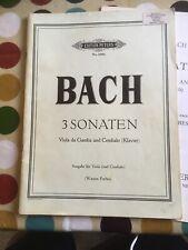 Bach Viola Da Gamba Sonatas
