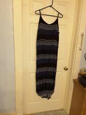 Sun Dress Old Navy Xxl Blue White Striped