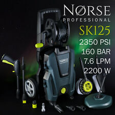 NORSE Professional - High Power Electric Pressure / Jet washer 2350psi - SK125