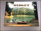 1976 MG Midget Factory Original Car Sales Brochure Catalog - Convertible