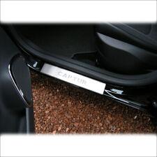 4x Battitacco protezione auto sotto porta acciaio per Skoda Octavia 2008-2017