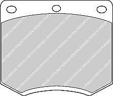 Brand New Ferodo Front Brake Pad - FDB167 - 12 Month Warranty!