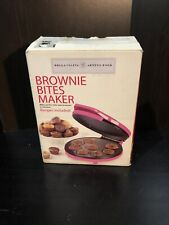 Pink Bella Cucina Artful Food Brownie Bites Maker New In Box
