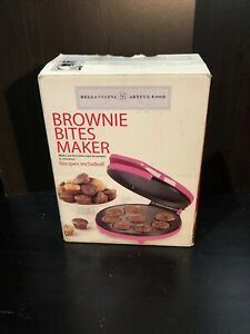 Pink Bella Cucina Artful Food Brownie Bites Maker New In Box