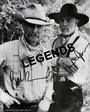 LONESOME DOVE -  Robert Duvall & Tommy Lee Jones Autographed Copy  DOVE-04