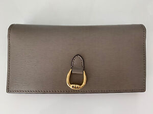 Ralph Lauren Ladies Taupe Leather Purse - New&tags