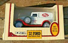 1932 Ford Panel Delivery Van. Super Valu. ERTL Diecast Locking Coin Bank NIB