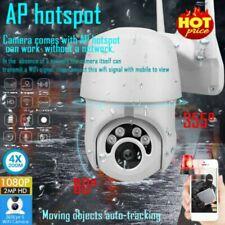 Two-way Audio WIFI 1080P IP Camera Outdoor IR Night Vision PTZ Speed Dome CCTV