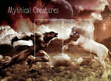 Liberia - 2014 - Mythical Creatures - Souvenir Sheet of 2 Stamps - Mnh