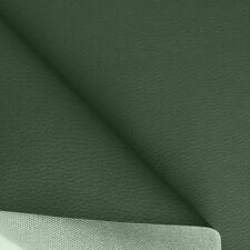 dunkel grünes Kunstleder weich anschmiegsam wie Nappa-Leder Polster-Stoff Tolko