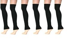 Plain Black Non-Stirrup Legwarmers - Free Delivery