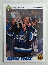 1991 Upper Deck Star Rookie #460 Felix Potvin Toronto Maple Leafs EX-NMT