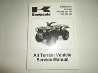 2002 2003 Kawasaki Prairie 650 Kvf 650 4x4 Atv Service Manual On A Cd Ebay