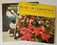 2 Holiday Music Vinyl Percy Faith & Rudolph the Red Nosed Reindeer