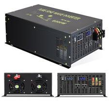 12V Pure Sine Wave Inverter 6000W Power Generator Dc to Ac Solar Wind System