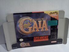 Illusion of Gaia - Super Nintendo - SNES - Authentic BOX ONLY