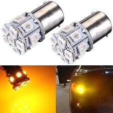 Lampe LED Blinker Turn Gelb Amber Auto 1156 BA15S P21W 12V Volt DC AC 13 SMD