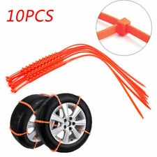 10PCS Snow Tire Chain Anti-Skid Belt For Truck SUV Emergency Winter Briving EH