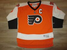 Claude Giroux #28 Philadelphia Flyers NHL Reebok Jersey Youth XL 18-20