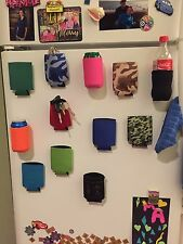 50 Magnetic Can Holders Koozie Coozies Holiday Gift, Tailgate, Golf, Fridge, BBQ