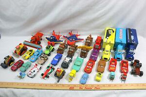 Lot of 30+ Disney Pixar Cars Diecast Plastic- McQueen~Luigi~Mack~Mater