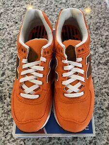 New Balance 574 Backpack Size 9 Men's Orange/Brown ML574BPY Brand New DS