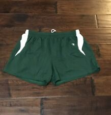 Champion Men's Double Dry Forrest Green Running Shorts Sz. L NEW W/Briefs