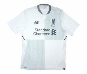 Liverpool 2017-18 Original Away Shirt (Excellent) M Soccer Jersey
