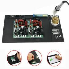 Soldering Iron Repair Padmat Heat Gun Resistant Welding Blanket Electronics