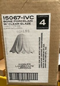 Kichler 15067IVC  Porcelain Tulip Low Voltage Deck & Patio Light