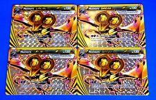 Pokemon NOIVERN BREAK 113/162 - XY BREAKTHROUGH - LOT OF 4 - RARE FULL ART CARDS