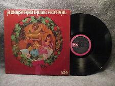 33 RPM LP Record A Christmas Music Festival CP Capitol Records SL-6688