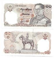 THAILAND 10 BAHT 1980 SIGN 60 UNC P 87