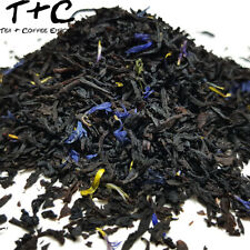 Earl Grey Blue - Premium Black Loose Leaf Tea (20g - 1800g)